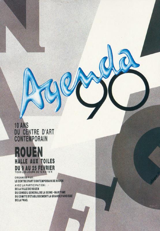 Affiche  Agenda90